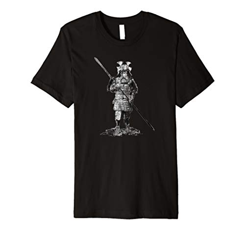 Samurai Warrior T-Shirt Japanese Warrior Ninja Authentic Tee