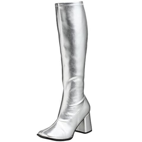Pleaser Gogo 300, Bottes Femme - Argent (Silver), 36 EU