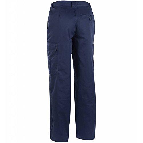 Bläkläder�?Bundhose grau marineblau