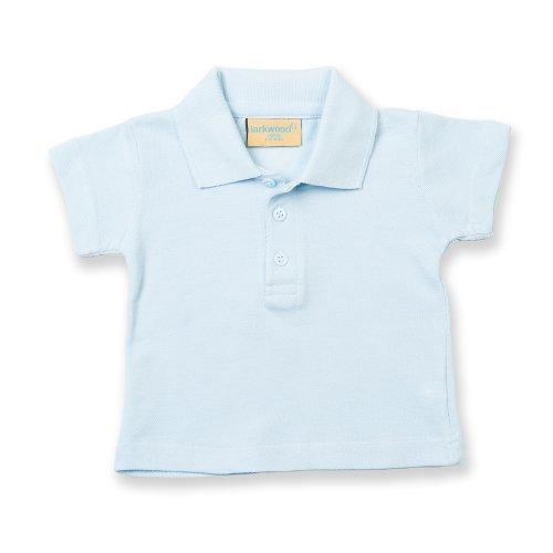 Larkwood Kleinkinder Polo Shirt Blau - Blassblau