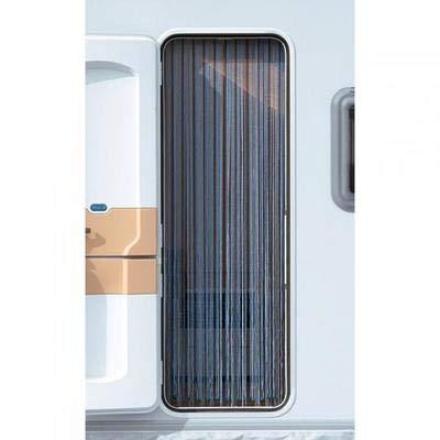 Arisol Kordelvorhang 190x60cm Türvorhang Vorhang Sichtschutz Insektenschutz Camping Reisemobil Blau