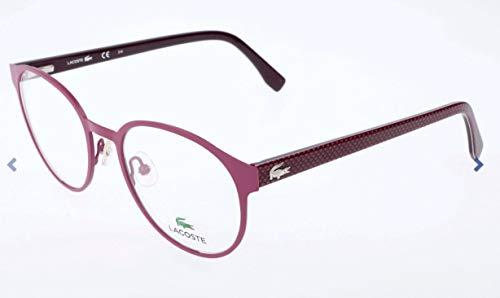Lacoste Unisex-Erwachsene L2204 Brillengestelle, Pink, 50