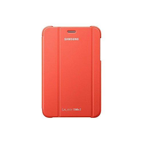 Samsung EFC-1G5S - Funda original dura para Galaxy Tab II, 7 pulgadas, color naranja
