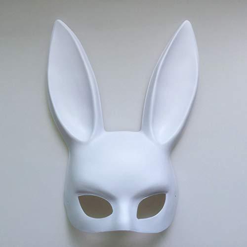 AND Make-up Ball Kaninchen Ohr Maske Mädchen Maske Halloween Maske Party (Halloween-mädchen Beängstigend Make-up)