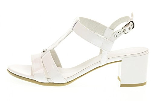 NERO GIARDINI scarpe donna sandali P717610D/707 Bianco