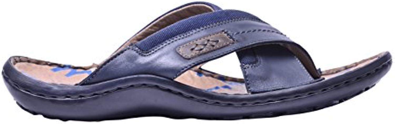 Vogar Verano Sandalias Zapatos Hombre Calzado Playa Cuero VG1164
