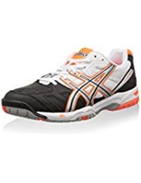 Asics Zapatillas de Tenis Gel-Game 4 Blanco/Negro/Naranja EU 42 (US 8.5)