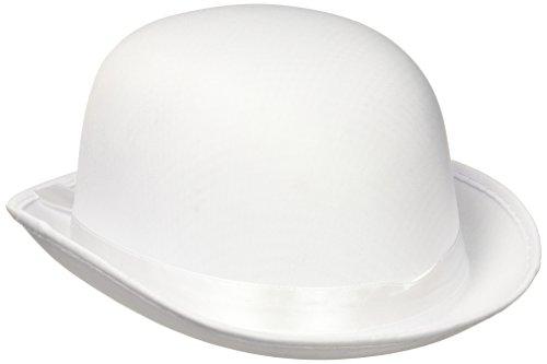 Forum Novelties DLX Satin Derby, (Weiße Satin Derby Hat)