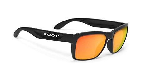 Rudy Project Spinhawk Slim Sunglasses Black Gloss - RP Optics Multilaser Orange 2019 Fahrradbrille