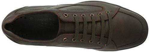 Mephisto Gregor Grizzly 151 Dark Brown, Low-Top Sneaker homme brun (Dark Brown)