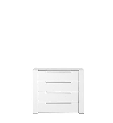 Paul DOWWA61024 Kommode, Holz, weiß, 41 x 100 x 87 cm - 3