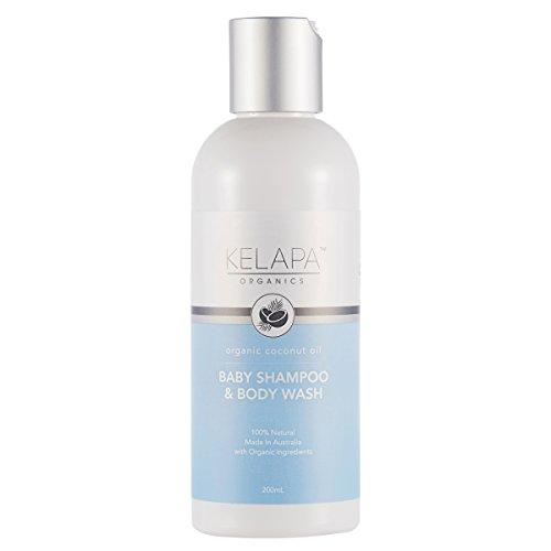 Kelapa Organics - Doccia e Shampoo per Bambini - Olio di Cocco - Organic, Naturale - Non testato su animali