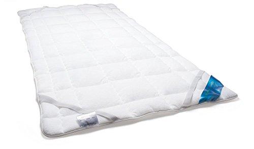 Schlafmond Medicus Clean Allergiker Matratzenschoner, Unterbett aus Baumwolle waschbar bis 95 Grad (140x200 cm) - Baumwolle Matratzenauflage
