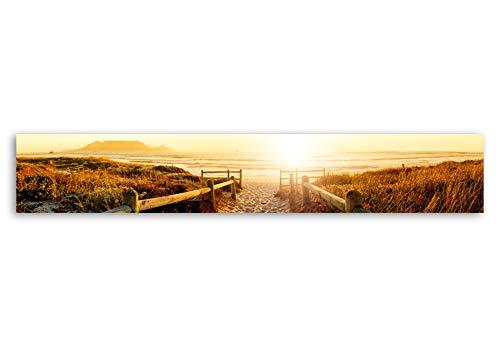 murando Deko Panel XXL 300x50 cm Vlies Tapete Poster Panoramabilder Riesen Wandbilder Dekoration Design Fototapete Wandtapete Wanddeko Wandposter Natur 110603-2 - 2 Riesen Poster