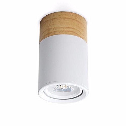 ms-61787 mini - größe - massivholz basis führte deckenleuchte flush mount deckenleuchte warnsignal (warmes licht.,warmes licht (Flush-mount Außen-deckenleuchten)