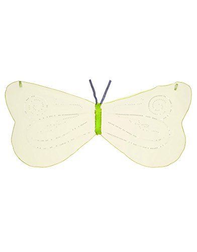 Dreamy Dress-Ups 50548 Fairy Wings, Lime, Tüllflügel Elf Fee mit glitzernden Pailletten -