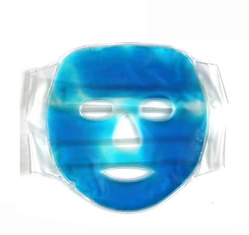 AGIA TEX Gel-Gesichtsmaske Augenmaske Entspannungs-Maske kühlend wärmend gegen Falten wiederverwendbar für Männer Frauen Kinder -