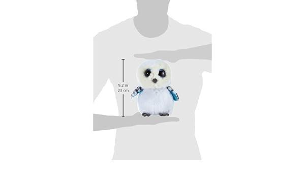 86713ea6186 6 X TY Spells Buddy Beanie Boos 7136978 Soft Snow Owl Toy  Glubschis  Large  24 cm White  Amazon.co.uk  Kitchen   Home