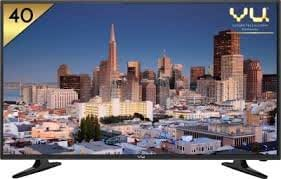 VU 102 cm (40 Inches) Full HD LED TV VU40D6575 (Black)