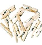 Mini-Holz-Wäscheklammern ca. 2,5 cm, ca. 100 St [Spielzeug] -