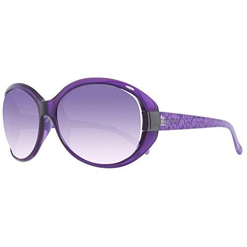 Guess Damen GU0214-61O55 Sonnenbrille, Violett (Morado), 61