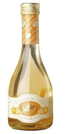 Vinagre de Naranja Gourmet - 250 ml - Vinagre de España de Alta Calidad, Envejecido en Barrica de...