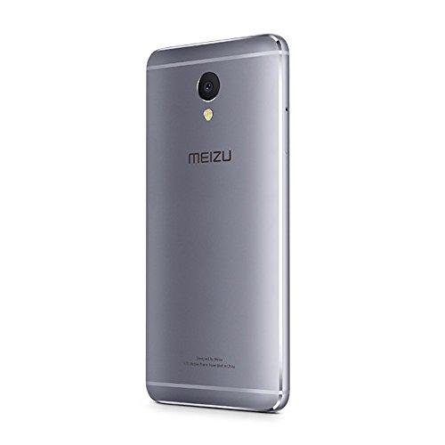 "Meizu M5 Note - Smartphone de 5.5"" (Octa-Core A53 1.8 GHz, memoria interna de 16 GB, 3 GB de RAM, HD 720p), Gris/Negro"