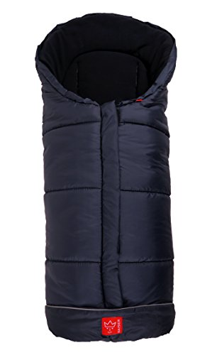 Kaiser - 65708/22 - accessori passeggino - sacco termico - iglu thermo fleece - marine