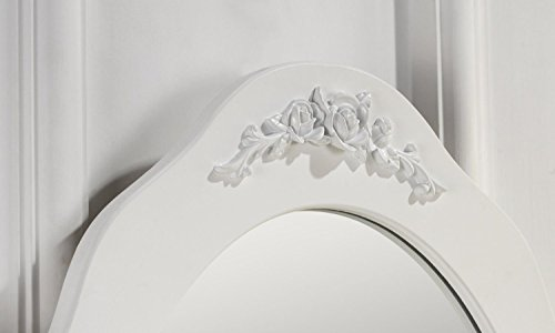 Tabouret table de maquillage bureau commode avec coiffeuse blanc