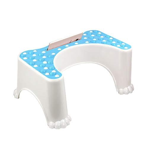 WC de bain Tabourets Tabouret de toilette blanc The Original Bathroom Stool - pour adultes et enfants (Couleur : A)