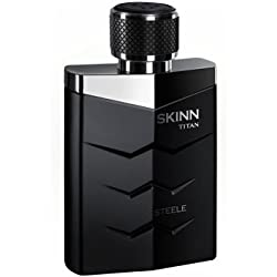 Titan Skinn Men's Eau de Parfum, Steele, 50 ml