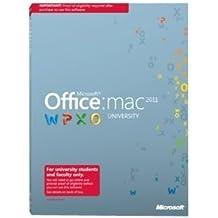 Microsoft Office for Mac University 2011 - Complete package - 1 PC, 1 portable device of the same user - EDU, DSA - DVD - Mac - English - 32/64-bit(U6L-00073)