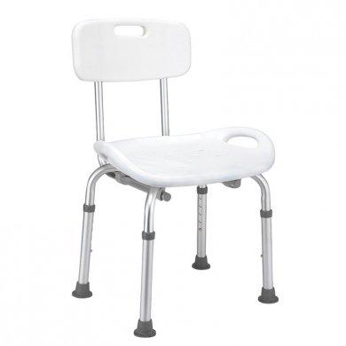 Sedia per doccia vasca con schienale sedile plus portata 135kg