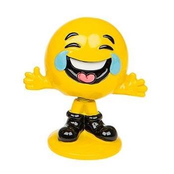 Lachen mit Tränen Emoji Wobbler
