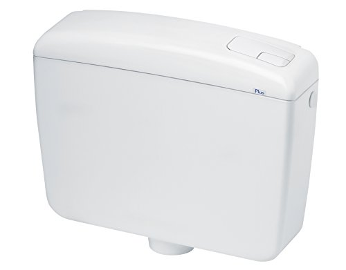 Waterful SPK1000 Cassetta Scarico WC a Zaino, 2 Tasti Completa, Bianco