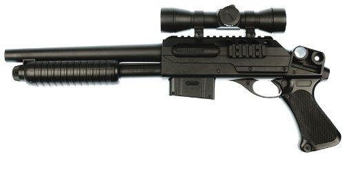 BU Softairgewehr Pumpgun - Franchi SAS12 mit viel Zubehör zu BU
