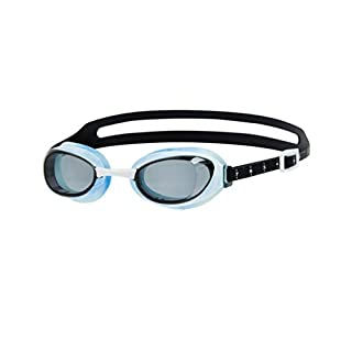 Speedo Unisex's Aquapure Optical Prescription Goggles, Blue/Smoke, Size -3.5