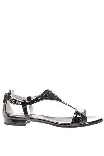P615720D-100.Sandalo spianato.Nero.37