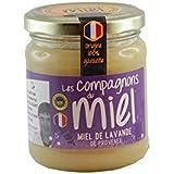 Les Compagnons du Miel - Miel de Lavande de Provence IGP - Pot verre 250g - Crémeux