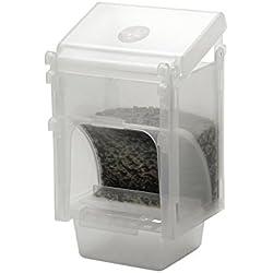 ROB Harvey Specialist piensos 1kg economía Diamond dispensador para todos los jaula y Avairy pájaros 10x 9x 15,5cm