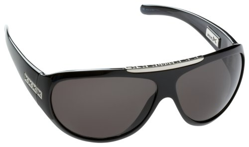 ANON SONNENBRILLE AMOS, BLK GLOSS/GRY  (A71973-010)