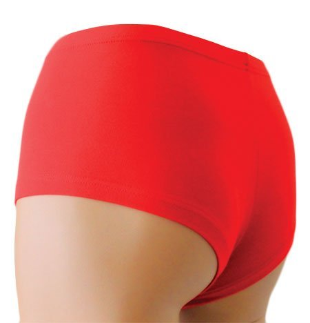 THERMOFORM © Damen Organic-Bamboo Panties Schlüpfer Ideal für Winter wie Sommer Rot
