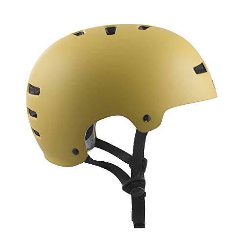 TSG Helm Evolution Solid Color Satin Dark Buff, S/M -