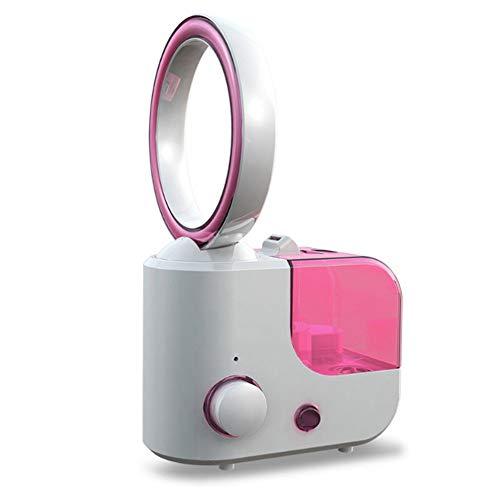 QYWSJ Ventilador Sin Cuchillas Dos en Uno,Ventilador Refrigeración Ahorro Energía Portátil y Silencioso,Aire...