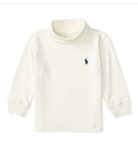 Ralph Lauren Baby Jungen (0-24 Monate) T-Shirt cremefarben Gr. 9 Monate, cremefarben
