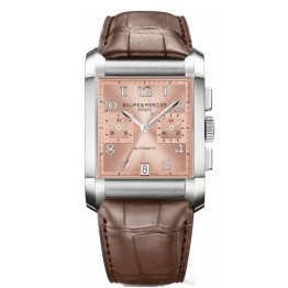 baume-et-mercier-hampton-10031-34mm-automatic-stainless-steel-case-brown-leather-anti-reflective-sap