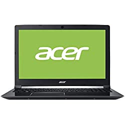 "Acer Aspire 7 | A715-72G-75AN - Ordenador portátil 15.6"" Full HD LED (Intel Core i7-8750H, 8 GB de RAM, 128 GB SSD + 1 TB HDD, Nvidia GTX1050 4GB, Windows 10 Home) Negro - Teclado QWERTY Español"