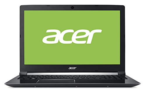 "Acer Aspire 7 | A715-72G-75AN - Ordenador portátil 15.6"" Full HD LED (Intel Core i7-8750H, 8 GB de RAM, 128 GB SSD + 1 TB HDD, Nvidia GTX1050 4GB, Windows 10 Home) Negro - Teclado QWERTY Español"