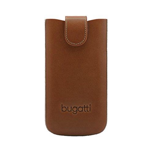 Bugatti York Schutzhülle Unviersal Größe 2ML Braun