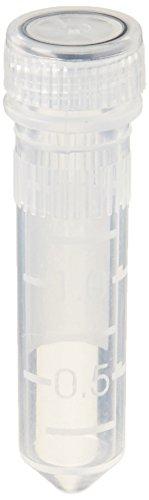 Benchmark Scientific beadbug d1031-t20non-skirted leer Microtubes mit Kappen und Dichtungsring, 2ml Fassungsvermögen (1000Stück)